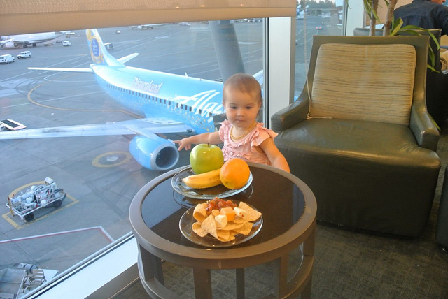 Alaska Airlines Seattle Lounge Review – Disappointing