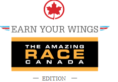 Air Canada's Earn Your Wings – Free Aeroplan miles – Amazing Race Canada Edition
