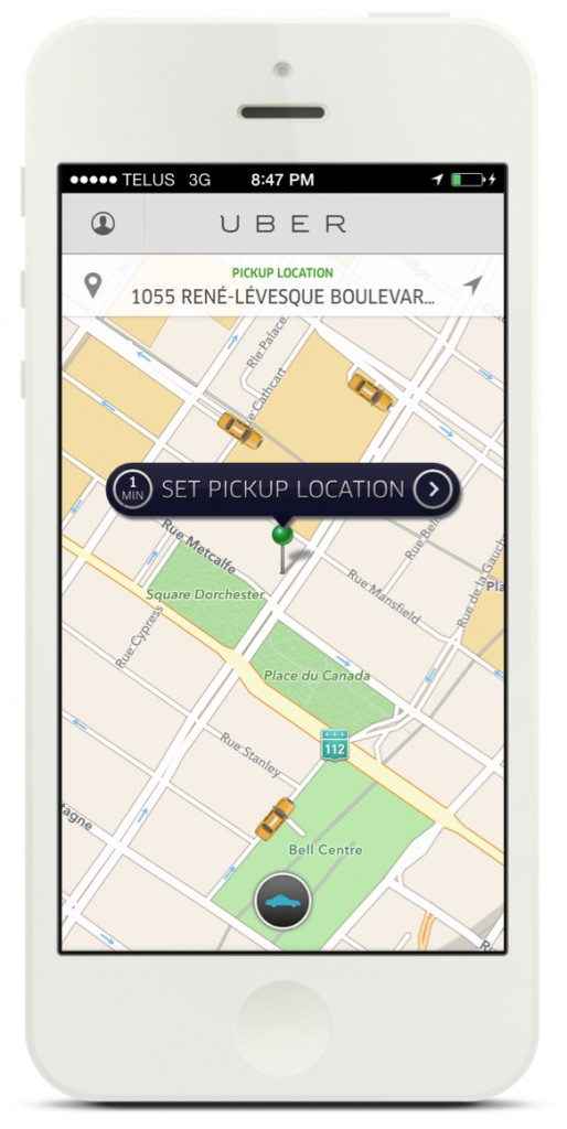 Uber Taxi Montreal – $15 off your first ride