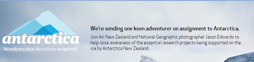 Win a trip to Antarctica courtesy Air New Zealand!