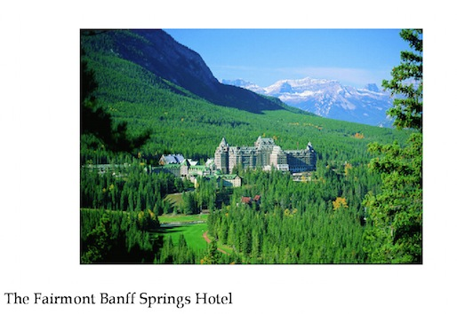 Fairmont Hotel Black Friday 2014 Deal – Spend $500 Canadian at the Fairmont Hotel Between 1-4pm EST on the 28th and Receive $100 Gift Card