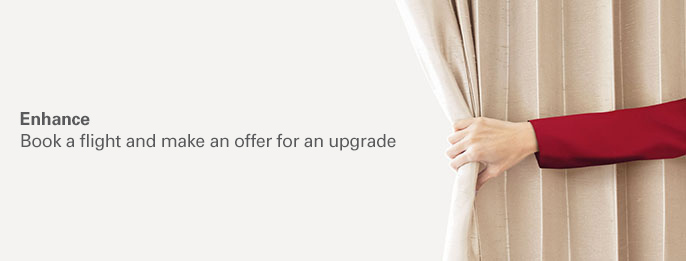 Cathay Pacific Enhance – Bid to upgrade your flight