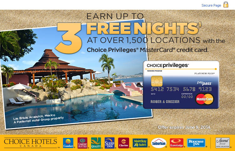 Choices Privleges Card.