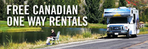 FREE RV RENTALS FROM WESTERN TO EASTERN CANADA (CRUISE CANADA)