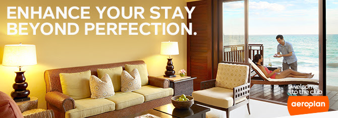 1,000 bonus Aeroplan miles per stay at Fairmont Hotels (Ends December 30, 2014)