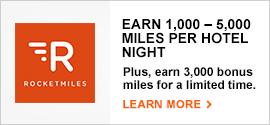 RocketMiles Canada – 3000 Aeroplan Bonus – 2015