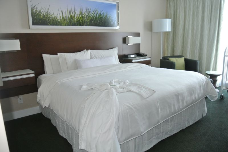 Inviting room at Westin Wall Center Vancouver Airport