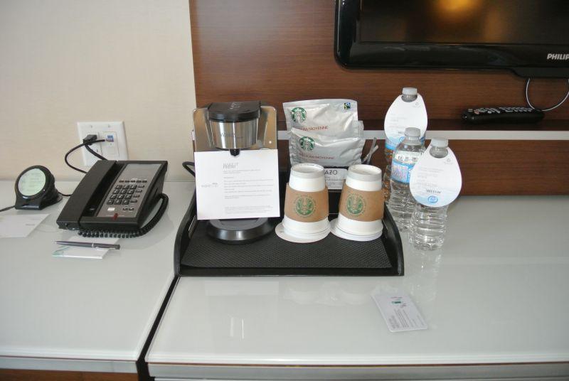 Coffee/Tea/Welcome Water.