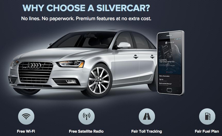 Silvercar Audi Car Rental – 1 Free Day