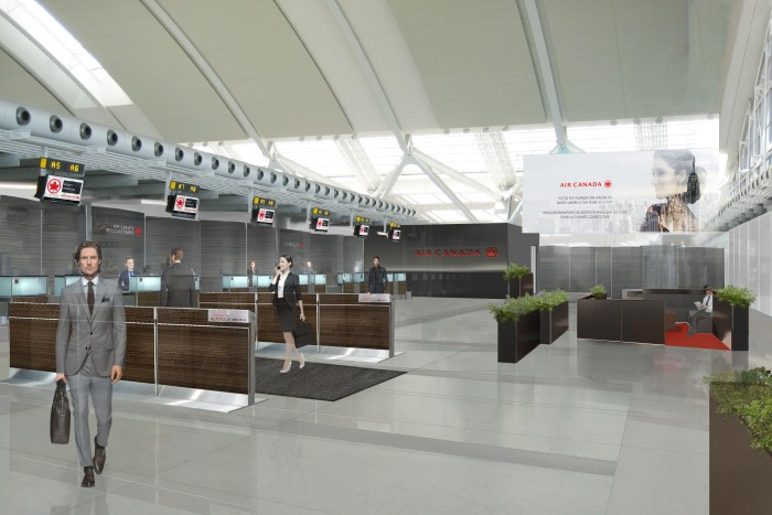 Air Canada Introduces New Business Class Check-in at Pearson (YYZ)
