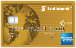 Scotiabank Gold American Express Card – First Year Free with a $250 sign-up bonus!